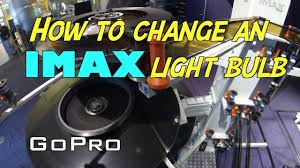 how many projectionists does it take to change an imax bulb youtube