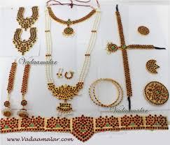 bharatanatyam 10 pieces temple jewellery best deals on