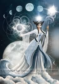 selene the goddess of the moon