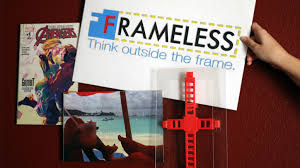 hanging posters without frames frameless art without borders by william hopp u2014 kickstarter