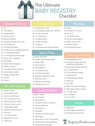 bridal shower registry checklist ultimate baby registry checklist baby shower planning baby gifts