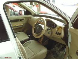 Car Modifications Interior Swift With Beige Interiors Wooden Trims Good Or Bad Team Bhp