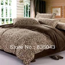 Ikea Bedding Sets Luxury Bedroom Decor With Bedding Sets Brown Geometric