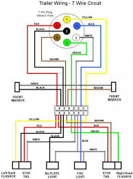 trailer connector wiring diagram 7 way wiring diagram and