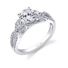 swirl engagement rings infinity swirl engagement ring diamondsrforever