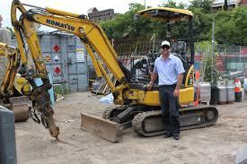 komatsu komtrax triumphs again stopping excavator thieves