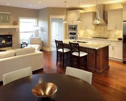 kitchen family room floor plans best 25 small kitchen family room combo ideas on