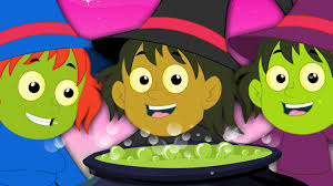 five wicked witches scary rhymes for children five little