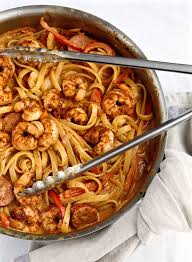 louisiana cuisine history cajun shrimp pasta with sausage recipe