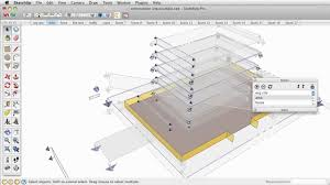 Tutorial Sketchup Autocad   construction sequence animation in sketchup tutorial sketchup