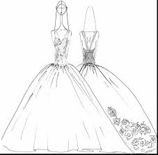 good dress up coloring pages with dress coloring pages