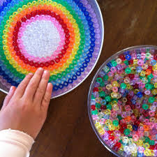 suncatchers from melted beads mandala theme and try our hand at