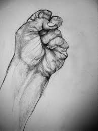clenched fist teen art photo teen ink