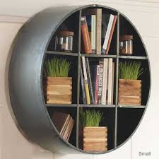 unique round bookcase really work it u2014 doherty house