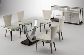 Dining Room Furniture Deals Furniture Beauteous Modern Glass Top Dining Table Deals Model