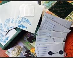 seed envelopes seed envelope etsy