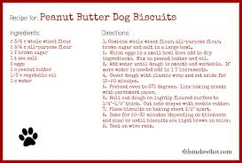 recipes for dog treats peanut butter dog biscuits this makes that