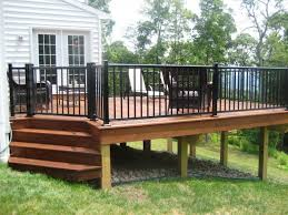 aluminum deck gates