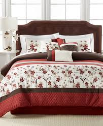 What Size Is A Full Size Comforter Bed In A Bag And Comforter Sets Queen King U0026 More Macy U0027s