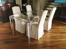 stunning acrylic dining room table images home ideas design