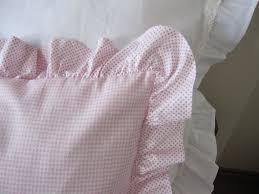 simply shabby chic misty rose shabby chic bedding ruffled pillow sham pastel от nurdanceyiz