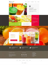 food templates free download parallax drupal website templates themes free premium free beautiful juice company drupal template 75 free demo download