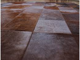 Patchwork Cowhide Rug Flooring Stylish Patchwork Cowhide Rug For Your Home Interior