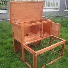 3 Storey Rabbit Hutch 2 Storey Rabbit Chicken Guinea Pig Ferret Cage Coop House Hutch