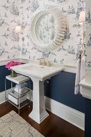 Wallpaper Nautical Theme - nautical themed powder room design ideas