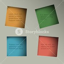 minimalistic minimalistic background with square paper holes royalty free stock