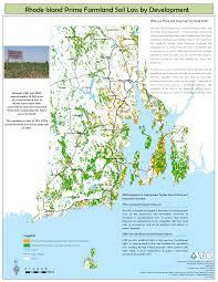 map rhode island ri soil survey prime farmlands nrcs rhode island