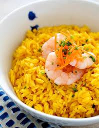 cuisiner le curcuma recette riz basmati aux crevettes et lait de coco recette