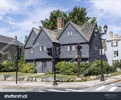 massachusetts house witch house salem massachusetts usa stock photo 725738299