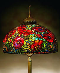 stained glass lamp shades for floor lamps lightings and lamps