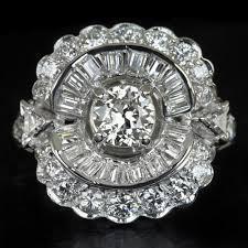 big old rings images 2 5ct diamond platinum big cocktail ring old eu cut antique deco ?1538