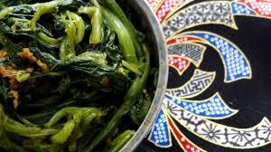 chinois en cuisine salade d épinards chinois chine la tendresse en cuisine