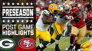 packers vs 49ers game highlights nfl youtube