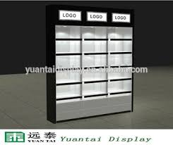 Wooden Wall Display Cabinets Wooden Wall Display Cabinet Cosmetic Shop Counter Design Buy