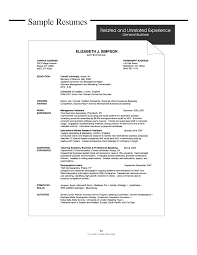 general resume objective resume for study