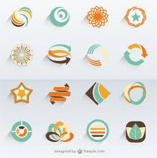 eco logo templates vector free download