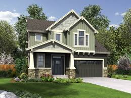 best collections of narrow lot house plans with rear garage all