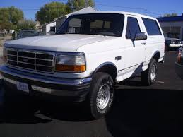 white bronco car 1994 ford bronco information and photos zombiedrive