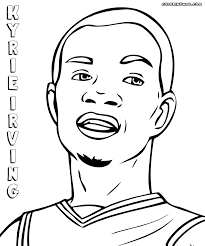 nba players coloring pages coloring pages to download and print