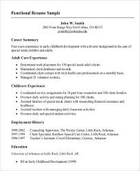 A Functional Resume What Is Cv Resume Lukex Co