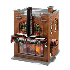 Harley Home Decor by Amazon Com The Original Snow Village From Department 56 Harley
