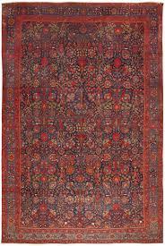 Persian Rugs Usa by Antique Kurdish Bidjar Rug 46363 Detail Large View Persian
