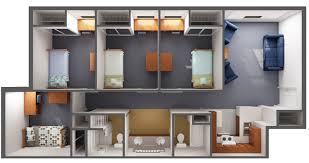 Floor Plan Of A Living Room Housing U0026 Residence Life Prospective Residents