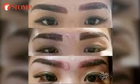 Home Based Design Jobs Singapore Woman U0027disfigured U0027 After Going For Home Based Eyebrow Embroidery