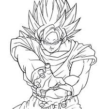 coloring pages goku colouring pages 1 dragon ball z goku