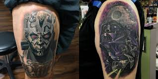 16 amazing star wars tattoos u2014including one from u201cthe force awakens